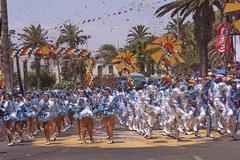 Andean Carnival - Arica, Chile Stock Photos