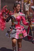 Andean Carnival - Arica, Chile - stock photo