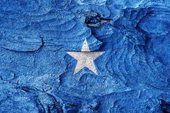 Somalia flag Stock Illustration