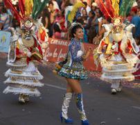 Morenada Dancer - Arica, Chile Stock Photos