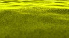 Yellow, Textile Carpet Background, Loop, 4k Stock Footage