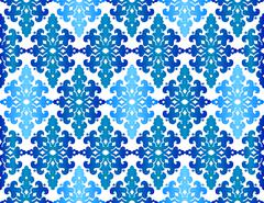 Antique ottoman turkish pattern vector design fourty three Stock Illustration