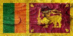 Sri lanka flag Stock Illustration