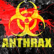 Anthrax virus concept background - stock illustration