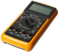 Digital Multimeter isolated Stock Photos
