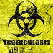 Tuberculosis virus concept background - stock illustration