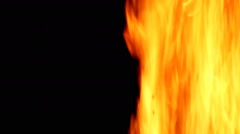 Abstract background with burning fire. Fire lines. Fire burn animation. Stock Footage