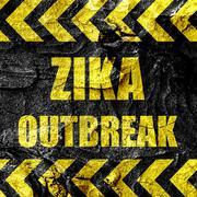 Zika virus concept background - stock illustration