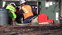 Public Utilities Electrical Power, transformer - stock footage