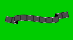 Film strip banners animation. Stock Footage