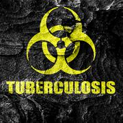 Tuberculosis virus concept background Stock Illustration