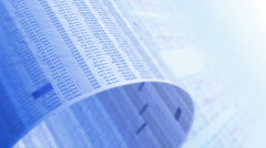 Financial, business or scientific figures, LOOP, 4k - Ultra HD. - stock footage