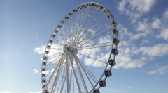 Time lapse of the Capital Wheel at the National Harbor (3) - stock footage