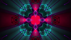 VJ Loop Kaleidocubes 7 Stock Footage