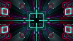 VJ Loop Kaleidocubes 9 Stock Footage