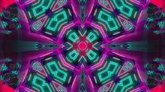 VJ Loop Kaleidocubes 11 Stock Footage