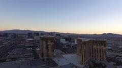 Mandalay Bay, Las Vegas- 4K Aerail Footage Stock Footage