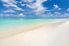 Beautiful ocean beach Stock Photos