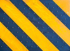 Yellow diagonal design texture - stock photo