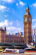 Houses of Parliament, London - stock photo