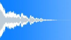 Deep Metallic Thud (Eerie, Blockbuster, Tension) Sound Effect