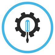 Engineering Flat Vector Icon - stock illustration