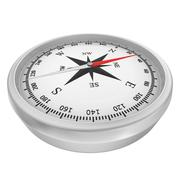 Compass with windrose isolated on white background Stock Illustration