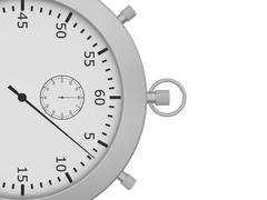 Close stopwatch Stock Illustration
