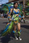 Tobas Dancer - Arica, Chile Stock Photos