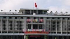 Independence Palace, Saigon Stock Footage