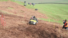 Hill Climb Motor Sport Stock Footage