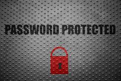 Password Protected Stock Photos
