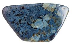 specimen of rhodusite mineral gem stone - stock photo