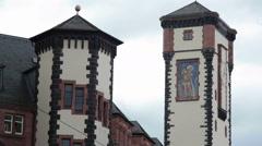 New Municipality Rathaus building, Frankfurt am Main, Germany Stock Footage