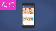 Facebook Mobile Intro - Apple Motion 5 and Final Cut Pro X Template - stock after effects