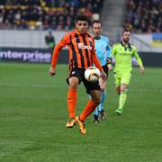 UEFA Europa League game Shakhtar Donetsk vs Anderlecht - stock photo