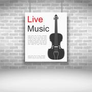 Live Music - stock illustration