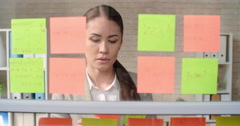 Reading Business Task - stock footage