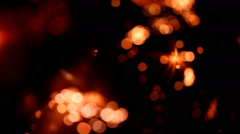 Light abstract, magical glow, motion Stock Footage