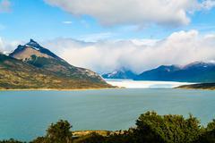 View of Perito Moreno Glacier Stock Photos