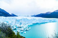View of Perito Moreno Glacier - stock photo
