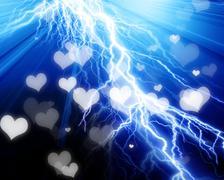Electrical flash Stock Illustration