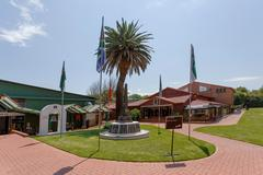 Museum of Military History in Johannesburg - stock photo