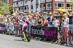 The Cyclist Luca Paolini - Tour de France 2015 - stock photo