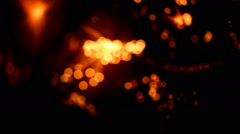 light abstract, magical glow, motion - stock footage