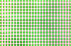 Cheerful classic rustic traditional gingham pattern in green and white Stock Photos