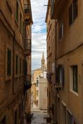 Detailed Valletta View - stock photo
