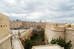 Malta National War Museum Stock Photos