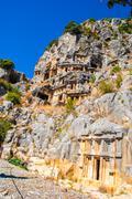 Ancient city of Myra, Antalya, Turkey Stock Photos