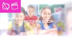 Modern Zoom Intro - Apple Motion 5 and Final Cut Pro X Template Stock After Effects